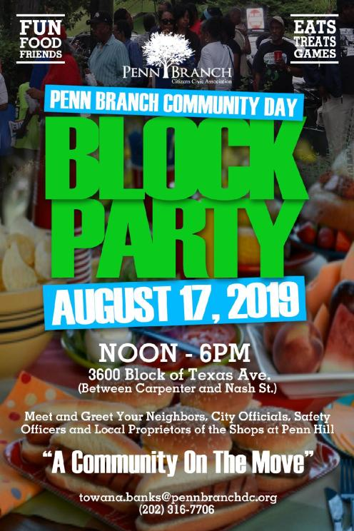 Penn Branch Community Day 2019.